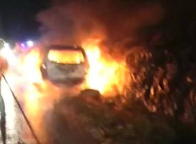 News video: Firebomb Attack Wounds Israeli Father and Daughter